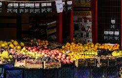 Marchand de légumes Storefront Photos stock