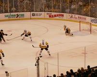Marchand do tiro da ação dos Bruins Foto de Stock