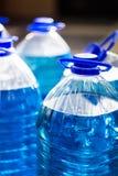 Marchandises chimiques automatiques liquide de Non-congélation image stock