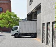 Marchandises de distribution d'entrepôt Photos stock