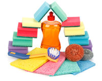 Marchandises de produit domestique images stock