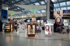 Marchandises hors taxe d'aéroport Images libres de droits