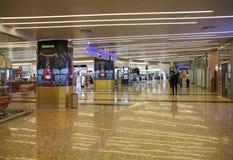 Marchandises hors taxe dans l'aéroport de Moscou Image libre de droits