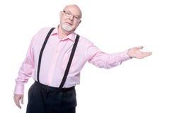 Marchandises pour des retraités Photo stock