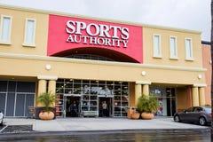 Marchandises sportives d'autorité de sports photos libres de droits
