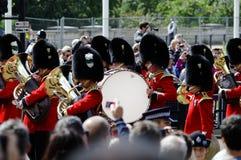 Marchando el color, Londres 2012 Fotos de archivo libres de regalías