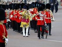 Marchando el color, Londres 2012 Imagen de archivo libre de regalías