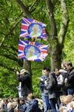 Marchando el color, Londres 2012 Imágenes de archivo libres de regalías