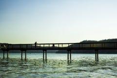 Marchant le dock Photographie stock libre de droits