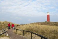 Marche au phare Photographie stock libre de droits