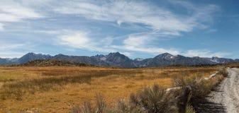 Marche autour du site géologique de crique chaude Photographie stock