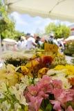 Marche aux Fleurs στη Νίκαια, Γαλλία Στοκ φωτογραφία με δικαίωμα ελεύθερης χρήσης