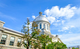 Marche Bonsecours Canada stock photography