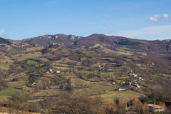 Marche country village Royalty Free Stock Image