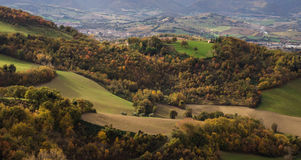 Marche countryside Royalty Free Stock Image