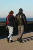 Marche d'amoureux Photographie stock
