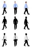 Marche d'homme illustration de vecteur