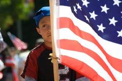 Marche d'immigration Photos libres de droits