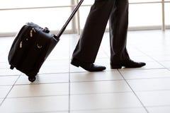 Marche dans l'aéroport Image stock