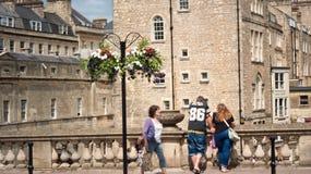 Marche dans la ville de Bath images stock