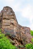 Marche dans le temple du sinawava Photo stock