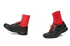 marche de chaussures Photo stock