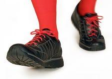 marche de chaussures Photographie stock libre de droits
