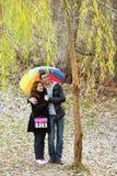 Marche de couples Images libres de droits