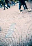 Marche de gens Photographie stock