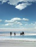 marche de gens de plage Image libre de droits