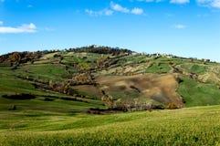 Marche De herfstmening van Regionaal Park stock fotografie