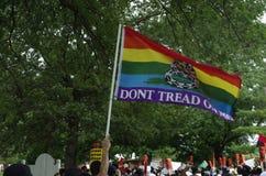 Marche de paix pour Michael Brown Photos stock