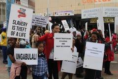 Marche de Pinetown le jour de la jeunesse Images libres de droits