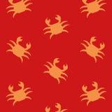 Marche en crabe le fond Photographie stock libre de droits