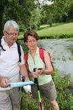 Marche en nature Photo stock