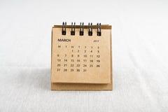 marche Feuille de calendrier Images libres de droits
