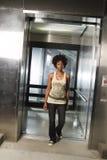 Marche hors de l'ascenseur 03 Image libre de droits