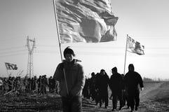 Marche interurbaine Image libre de droits