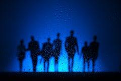 Marche la nuit photographie stock libre de droits