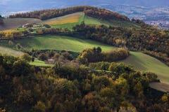 Marche landscape Stock Images
