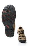 Marche mâle de chaussures Image libre de droits