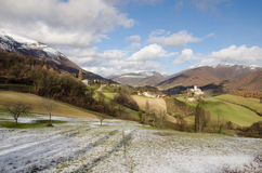 Marche mountains Royalty Free Stock Photo