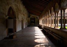 Marche par les monastères de Vérone Monastère de San Zeno Maggiore la vieille Italie photo libre de droits