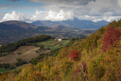 Marche peak mountains Royalty Free Stock Images