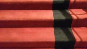 Marche vers le haut des escaliers au cinéma Photos libres de droits