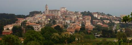 Marche village Stock Image