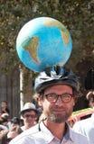 Marche voor het klimaat - Ecologische demonstratie De Zaterdag van Parijs Frankrijk, 08 September, 2018 stock foto