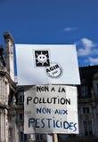 Marche voor het klimaat - Ecologische demonstratie De Zaterdag van Parijs Frankrijk, 08 September, 2018 royalty-vrije stock afbeelding