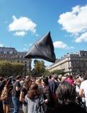 Marche voor het klimaat - Ecologische demonstratie De Zaterdag van Parijs, 08 September, 2018 stock afbeeldingen