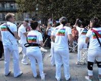 Marche voor het klimaat - Ecologische demonstratie De Zaterdag van Parijs, 08 September, 2018 royalty-vrije stock foto